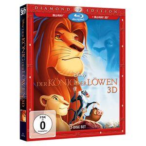 Blu-Ray 3D + 2D König der Löwen