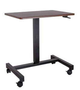 YULUKIA 100001B Air Lift Höhenverstellbarer Schreibtisch zum Sitzen und Stehen