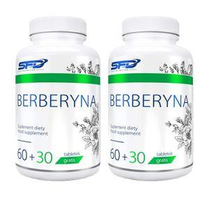 Berberin 500mg 180 Tabletten hochdosiert Blutzucker Verdauungssystem Gewichtsreduzierung Diät Gesundheit