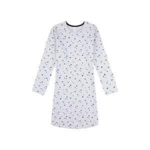 Sanetta Mädchen Nachthemd Sleepshirt mit Herzen-Alloverprint