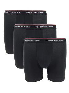 Tommy Hilfiger Herren 3er Pack Premium Essentials Boxershorts, Schwarz L