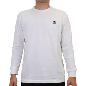 adidas Originals Trefoil Longsleeve Herren Langarmshirts Weiß (GE0860) Größe: L