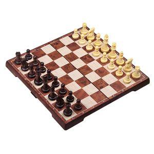 Schach Schachspiel Schachbrett mit Schachfiguren Brettspiel für Kinder und Erwachsene