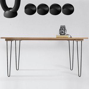 Hairpin Legs Stahl 4 Stück 36CM Schwarz Stützfuß Tischfuß Möbelfuß Tischkufen