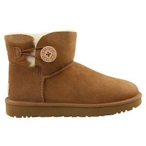 UGG Mini Bailey Button II Boot Stiefel Damen Beige (1016422 CHE) Größe: 37 EU