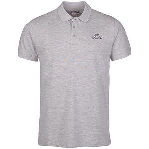 Kappa Peleot Herren Polo-Shirt Grau , Größenauswahl:L
