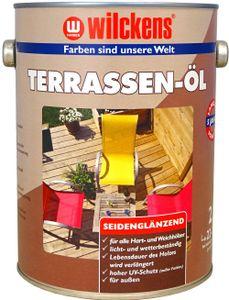 Wilckens 2,5l Terassen Öl Bangkirai Hartholz Pflege Garten Möbelpflege außen