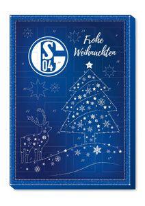 Riegelein Adventskalender Schalke 04 mit Alpenmilchschokolade 120g