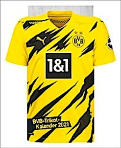 Borussia Dortmund BVB Trikotkalender Kalender Jahreskalender 2021, 20340200