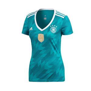 adidas DFB Deutschland Auswärtstrikot Away Trikot Damen WM 2018, Farbe:Grün, Bitte Größe wählen:S