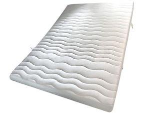 Taschenfederkern Matratze 7 Zonen 140 x 200 cm Härtegrad 2
