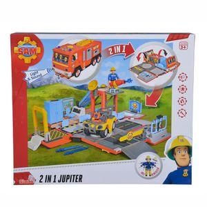 Feuerwehrmann Sam 2in1 Jupiter Spiel-Set mit Licht & Sound