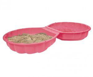 BIG Outdoor Spielzeug Garten Sandkasten, Wasserschale Sandshell pink 800007722