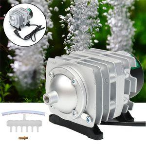 45L / min 25W Elektromagnetischer Luftkompressor Aquarium Sauerstoff Teich Luftp
