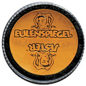 Eulenspiegel - Profi-Aqua Make-up Schminke - 20 ml, Farbe:Gelb