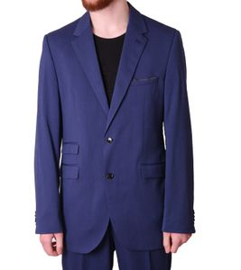 CLASS INTERNATIONAL Anzug klassischer Herren Business-Anzug 2-Knopf Verschluss Blau, Größe:110