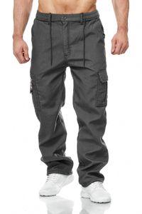 Herren Cargo Hose Arbeitshose Gefüttert Workwear H2000, Farben:Grau, Größe Hosen:3XL