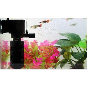 3-in-1 Multifunktionale Aquarium Filter, Zubehör für Fischtank - Schwarz