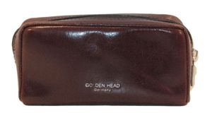 Golden Head Colorado Classic Zipped Key Case Bordeaux