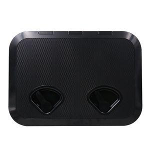 Universal Schwarz Inspektionsluke Inspektionsdeckel Lukendeckel Revisionsklappe Zugangsklappe Deckplatte, 440 x 315mm