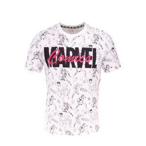 Marvel Comics Avengers - Herren T-Shirt Weiß Größe XXL