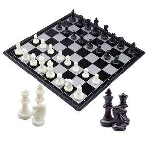 Schachspiel Magnetisch Klappbar Schachbrett Schach für Kinder Erwachsene Reisen Schach Chess mit AufbewahrungsboxSchachspiel,Schachbrett ,Schach, für Kinder Schach