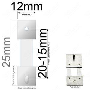 Pendelfeder für Standuhr, Großuhr Regulator 20-15mm Stiftabstand