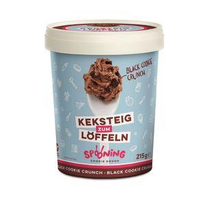 Spooning Keksteig zum Löffeln Black Coockie Crunch 215 g Dose