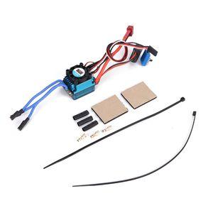 60A SL V2 ESC Hobbypower Racing Brushless Regler Controller Fahrtenregler Drehzahlregler USB für 1/10 1/12 RC Auto ZI 01
