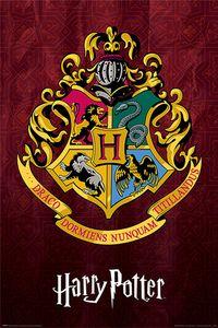 Pyramid Harry Potter Hogwarts School Crest Poster 61x91.5cm.