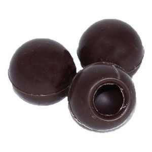 Trüffelhohlkugeln Zartbitter-Schokolade, 63 Stück