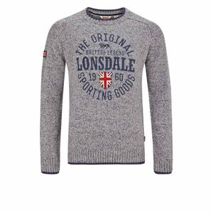 Lonsdale Men Crewneck Sweatshirt Borden - Größe: S