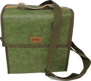 KeMar Kitchenware Lunchbox Tasche aus PE Papier   Bambus Grün   Wasserabweisend   Vegan   Recycelt