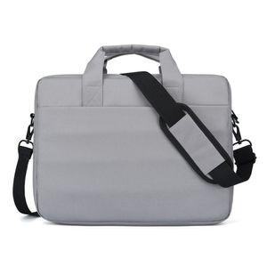 Laptop-Tasche 14 15-Zoll-Umhaengetasche mit Riemen fuer Maenner Frauen Langlebige Business-Aktentasche Reise-Aktentasche Buerotasche Multi-Taschen Laptop-Computer mit grosser Kapazitaet