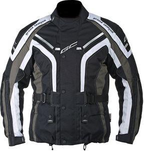 Grand Canyon One Way Motorrad Textiljacke Grösse: S, Farbe: Schwarz/Grau/Weiß