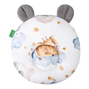 LULANDO Kissen Teddy VELVET, 28 cm x 28 cm, höchste Qualität der Materialien, 100% Baumwolle, Farbe:Sleepy