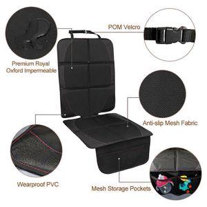 Autositzauflage   Geeignet Autositzschoner Schutz vor Autositze Kindersitzunterlage in Universeller Passform Wasserabweisend