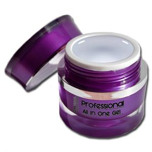 15ml Professional UV Gel ALL IN ONE Clear  1-Phasengel Mittelviskos