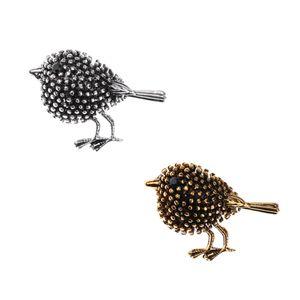 2 Stück Emaille Strass Pin Gothic-Vogel Stil Brosche Pin Modeschmuck Brosche - Geschenk
