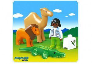 Playmobil 1.2.3. Tierparkärztin (6744)