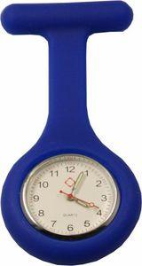 Schwestern-Uhr, Silikon, blau