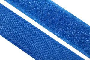 dalipo - Klettband  zum annähen, aufnähen - 20 mm Breite - blau