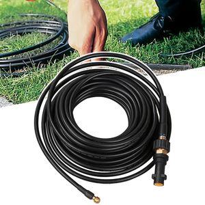 Hengda 15m Rohrreinigungsschlauch, Druck 180 bar 60°C geeignet fuer alle Hochdruckreiniger wie Kaercher Anschluss Bajonett