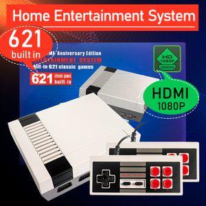 Gebaut-in 621 Spiele Mini TV Spielkonsole, Retro Klassische Handheld Gaming Player HDMI Ausgang video Spiel Konsole Spielzeug