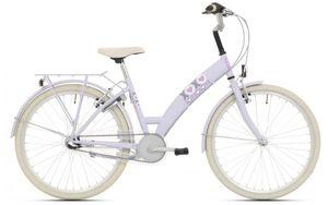 Bike Fun Kinderfahrräder Mädchen Lots of Love 26 Zoll 43 cm Mädchen 3G Rücktrittbremse Hellblau