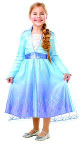 Frozen 2 Elsa Classic Die Eiskönigin Kinder Karneval Fasching Kostüm 128