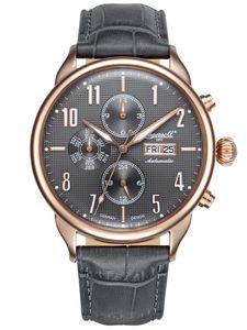 Ingersoll Herren Uhr Armbanduhr Automatik Jeffords IN1415RGY
