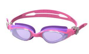 SwimTech schwimmbrille Quantum junior Silikon rosa/violett Einheitsgröße