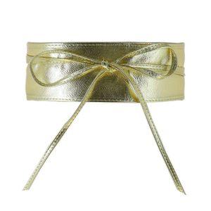 Glamexx24 Damen Gürtel Breiter Taillengürtel,Gold,18902a18
