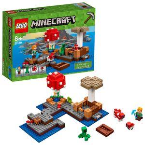 LEGO® Minecraft™ Die Pilzinsel 21129